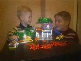 Лего-резиденция Лего-Мороза))