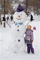 Я и мой снеговичок