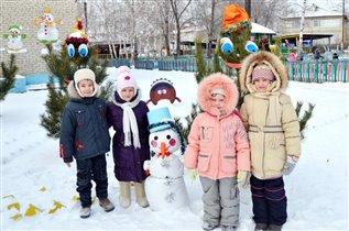 Неснежный снеговик