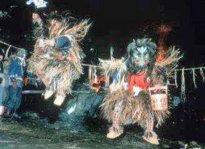 Япония: предновогодний ритуал города Ога