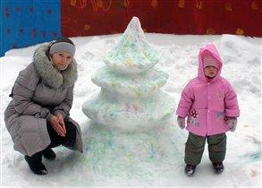 Снежная елочка!