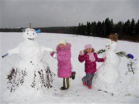 Снеговичища!