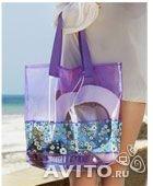 сумка для пляжа прозачная