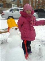 Вот такой снеговичок!