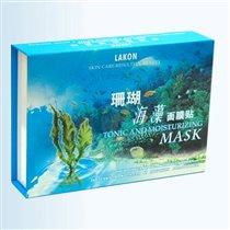маска с экстрактом коралла и морских водорослей