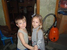 Танец с братом!!!