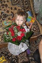 Букетик роз для мамы
