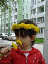 Моя Алинка - Аленький цветочек.