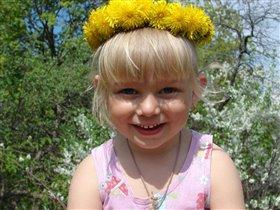 весенний цветочек