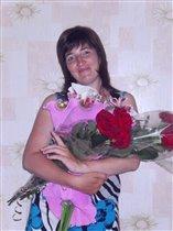 цветы от мужа и дочки-это счастье))
