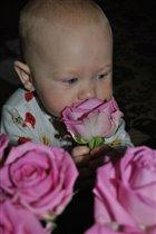 Даша и цветы