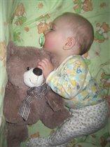 С мишкой и спится лучше!!