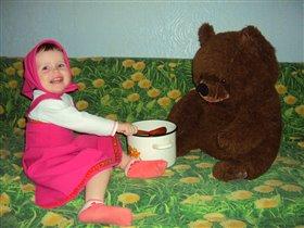 Лиза и медведь