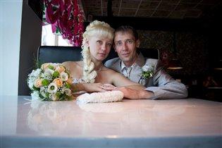 Мы поженились в День любви 3 августа 2012г.