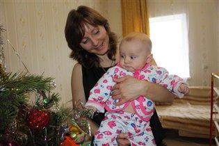 Первый Новый год, первая елка, первая игрушка.....