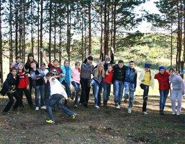 Дружные 'КЛАСС'ные танцы на природе!