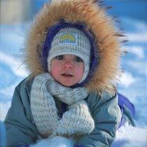 Как здорово поваляться в снегу