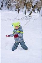 Весёлые игры в снежки
