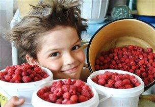 скорее бы в деревню за ягодками с куста!