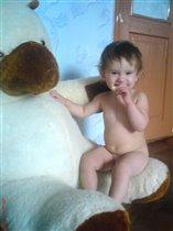 Я медведя не боюсь!)))
