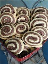 Печенье 'Серпантин' или 'Улитка' или 'Завитушка'