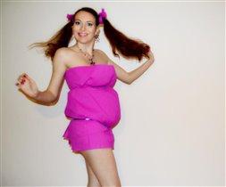 Беременная конфетка!