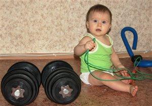 Юная спортсменка