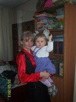 у любимой бабушки
