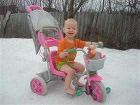 Босиком по снегу, лучше я поеду!