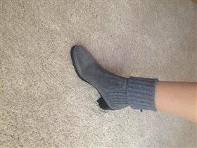 ботиночки с чулком
