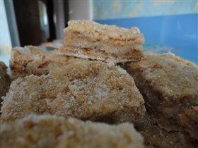 Сухой (насыпной) яблочный пирог
