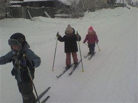 Лыжню!
