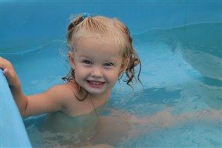 Люблю купаться.