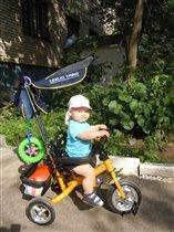 Мой первый велосипед!