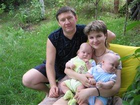 папа, мама и 2я