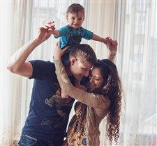 Наша счасливая семья!