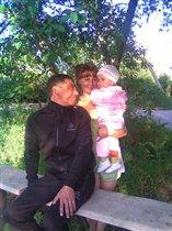 Мама, папа и я!'