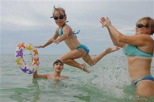 Семейная аквааэробика