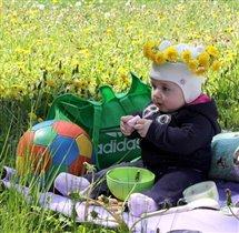 Завтрак на траве...