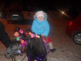 Пони - тоже транспорт!
