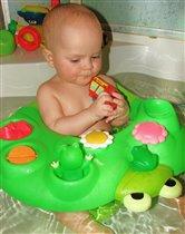 купание с лягушками-подружками