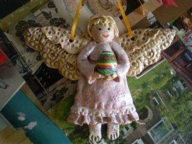 ангел из соленого теста