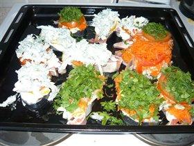 любимая рыбка с овощами)