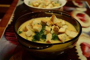 Гороховый суп - пюре.