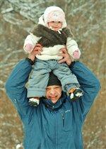 Папа и доча))