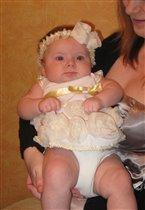 Первый новый год-первое платье. Мама сама сшила))