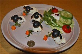 Диетическое блюдо ' Кролики'.