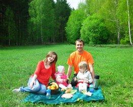 Наша весенняя прогулка в лесу!