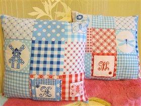 Подушки для Сашеньки и Машеньки