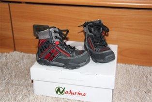 ботинки Naturino НОВЫЕ